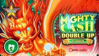 •️ New - Mighty Cash Double Up Dragon slot machine, 2 Bonuses