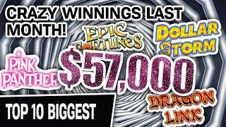 ⋆ Slots ⋆ CRAAAZY: I Won $57,000 LAST MONTH ⋆ Slots ⋆ ALL From Playing High-Limit SLOT MACHINES