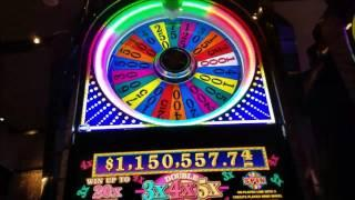 Wheel Of Fortune Double Times Pay Slot Machine - 2 wheel spins pays