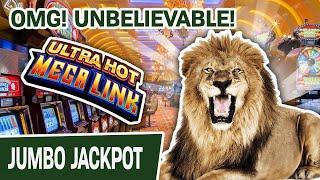 ⋆ Slots ⋆ OMG! UNBELIEVABLE Handpay ⋆ Slots ⋆ Ultra Hot Mega Link: Lion at Cosmo Las Vegas