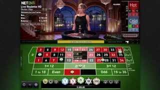 NetEnt - Live Casino - VIP Roulette gameplay