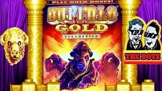 GOLD BUFFALO•BIG LINE HIT•SAVED OUR BANKROLL•CASINO GAMBLING!