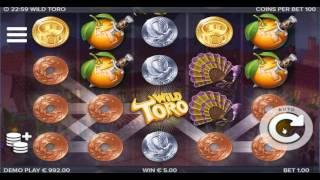 Wild Toro New Slot by ELK Studios Dunover Wins
