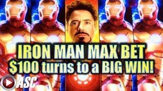•IRON MAN BIG WIN!!• NEW IRON MAN SLOT (WMS/SG) | MAX BET! Slot Machine Bonus