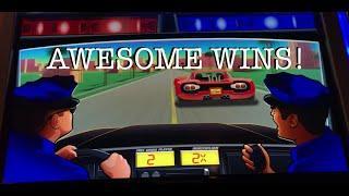 **AWESOME WINS** •LIVE PLAY• Slot Machines at Harrah's SoCal!