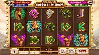 Age of the Gods: Goddess of Wisdom from Playtech - Bonus Feature & Free Games