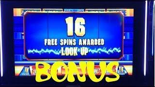 Money Roll 5 cent Live Play with BONUS FREE GAMES $5.25 bet Slot Machine