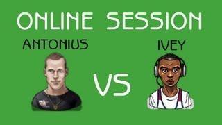 Phil Ivey versus Patrik Antonius Heads Up - Online High Stakes