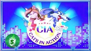 ++NEW CIA Cats in Action Class II slot machine, DBG