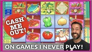 I NEVER PLAY THESE SLOTS! • CAN I MAKE ANY MONEY WHEN I DO WHEN I TRY CASH ME OUT?
