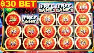 •HANDPAY JACKPOT• High Limit $30 Bet Ultimate Fire Link Handpay Jackpot ! Mega Slot Win | LAS VEGAS
