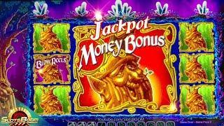 MEGA TRIGGER 200 MONEY BONUS!!! JACKPOT on Return to Crystal Forest - 1c Wms Slot MAX BET
