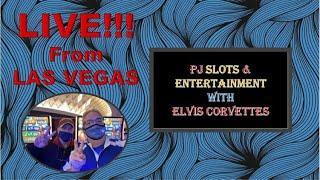 PJ & ELVIS  on Fremont Street