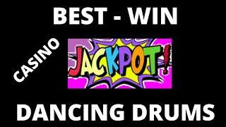 Back on the Air, WINNING CASINO CASH JACKPOT Dancing Drums