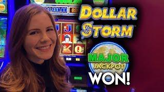 MAJOR JACKPOT WON! Dollar Storm Slot Machine! AMAZING RUN!! #ad