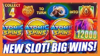 HOT NEW SLOT ⋆ Slots ⋆ ATOMIC SPINS HAS A BUFFALO GOLD TYPE BONUS THAT PRODUCES BIG WINS! ⋆ Slots ⋆ ALPINE CLASSIC