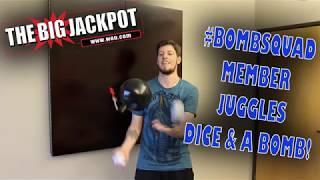 #Bombsquad Member Juggles Dice and A Big Jackpot BOMB! •