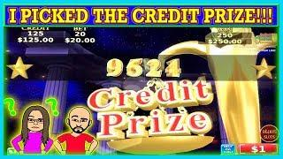 MY WIFE THINKS I'M CRAZY! FINALLY I PICKED THE CREDIT PRIZE   HIGH LIMIT CHINA SHORES  