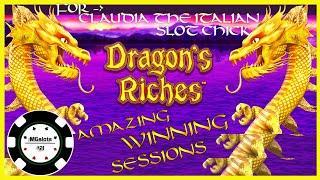 •️HIGH LIMIT Lightning Link Dragon's Riches EPIC SESSION  •️$25 MAX BET BONUS ROUND Slot Machine