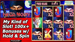 Ninja Moon Slot - My Kind of Game! 100x+ Wins in new Dollar Storm slot