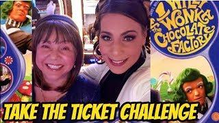 TAKE THE TICKET CHALLENGE WITH JUICY DEUCEY