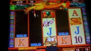 shen long slot machine bonus win