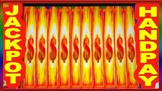 ** SUPER JACKPOT HANDPAY ** NEW SPIN IT GRAND **  SLOT LOVER **
