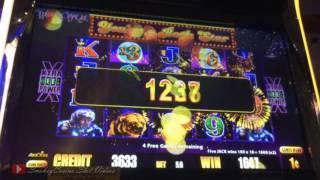 Timberwolf Slot x3 x6 Pick Bonus Win - Aristocrat
