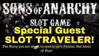 SONS of ANARCHY SLOT GAME WITH LIVE CHAIR FLYING ACTION