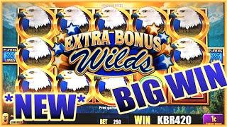 NEW SLOT ~ BIRDS OF PAY SLOT MACHINE BONUS BIG WIN by Aristocrat Slots