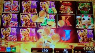 Fortune Stacks Slot Machine Bonus - 8 Free Games with Stacks + Multipliers - MEGA BIG WIN (#2)