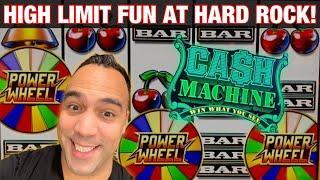 ⋆ Slots ⋆ HIGH LIMIT FUN AT Hard Rock Sacramento!!! | ⋆ Slots ⋆ DANCING DRUMS!! | WHEEL OF FORTUNE ⋆