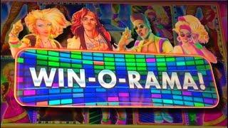 FIRST SPIN TRIPLE! BIG WINS! Wheel O Rama IS THE BEST SLOT MACHINE EVER!