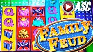 FAMILY FEUD SLOT MACHINE (FOR THE WIN Free-Spins Bonus) | Slot Machine Bonus (AGS)