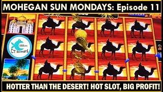 WIN BIG, CASH OUT, REPEAT! HOT WINS on  LIGHTNING LINK SLOT MACHINE! MOHEGAN MONDAYS Ep.11