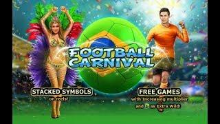 Football Carnival Online Slot from Playtech with Increasing Multiplier in Free Spins Bonus