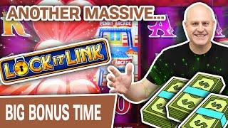 ⋆ Slots ⋆ MASSIVE Lock It Link High-Limit Slot Machine Play! ⋆ Slots ⋆ A HYPE Mini Boom for THE RAJA in Durant, OK