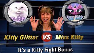 MISS KITTY VS KITTY GLITTER BONUSES! WHICH KITTY GAVE MORE GLITTER?