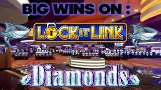 Big Bonus Wins in Free Spin & Lock Feature - Lock It Link Diamonds