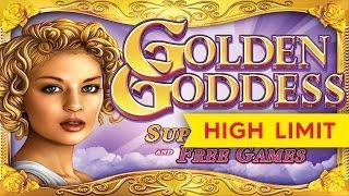 Golden Goddess Slot - ALMOST JACKPOT LONGPLAY - All Bonuses!