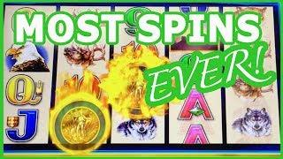 • •  MOST Spins EVER!! • PROGRESSIVE WINS! • Slot Fruit Machine Pokies w Brian Christopher