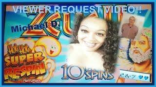 Viewer Request Video! •Zeus II • Will We Be Struck w/a BIG WIN? ~ WMS•
