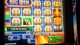 WMS Golden Maiden - Bonus hit over 600x