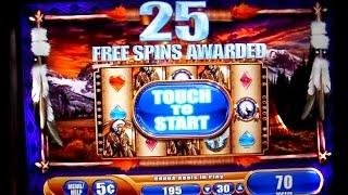 25 spins Great Eagle Returns - Free Spins WMS - 5c Video Slot