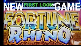 "**NEW GAME** (FIRST LOOK) ""AINSWORTH FORTUNE RHINO"" LIVE PLAY + VERY NICE BONUS"