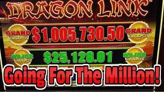 ⋆ Slots ⋆ $1,000,000 Dragon Link Grand Jackpot Challenge ⋆ Slots ⋆ Live High Limit Slots at Hard Rock Tampa!