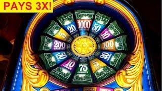 Triple Top Dollar Slot Machine *LIVE PLAY* $5 Max Bet Bonus!