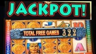 **JACKPOT** MAYAN CHIEF slot machine MAX BET HANDPAY WIN