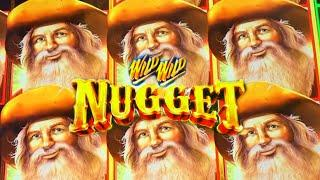 •COUNTRY SANTAS!• FIRST ATTEMPT ON WILD WILD NUGGET • Slot Machine (Aristocrat)