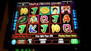 IGT - Triple Fortune Dragon Slot Bonus